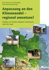 Cover Anpassung an den Klimawandel - Landkarte und Fotos