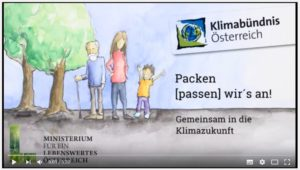 Startbild Scribble-Films - Gezeichnete Personen unterschiedlicher Generationenund Bäume